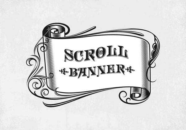 vintage-scroll-banner