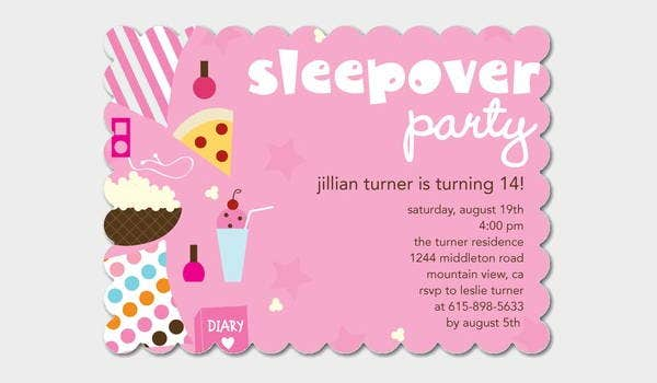 sleepover-invitation