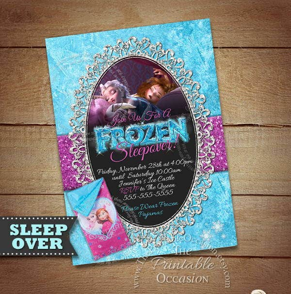 sleepover-frozen-invitation