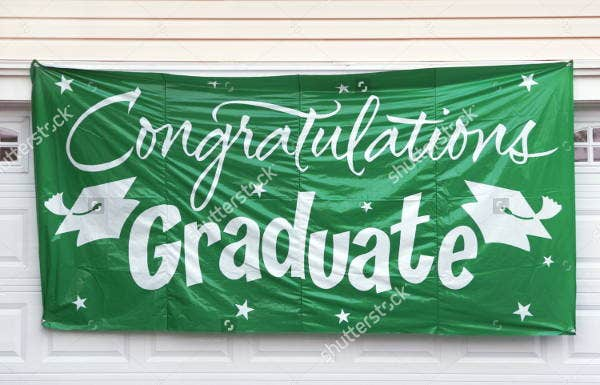 9 graduation banners jpg psd ai illustrator download free