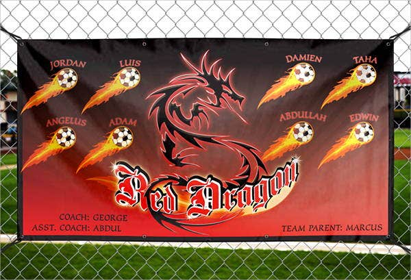 sports outdoor banner