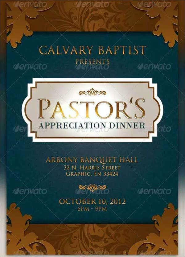 7 appreciation dinner invitations free sample example format pastor appreciation dinner invitation stopboris Choice Image