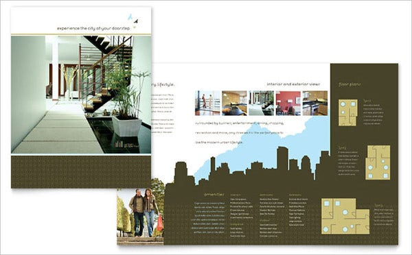 Urban Real Estate Company Brochure
