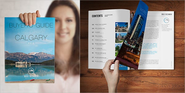 Real Estate Marketing Company Brochure