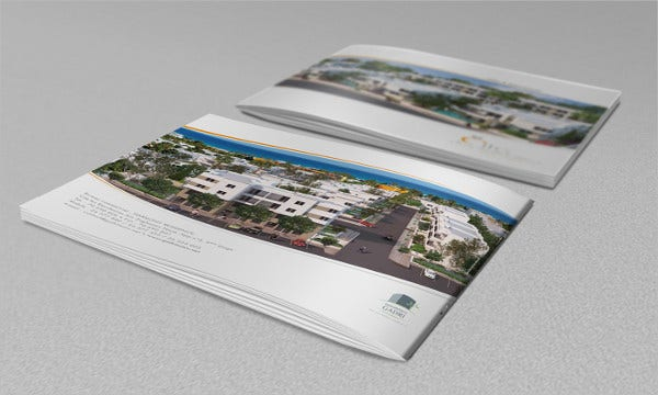 Unique Real Estate Company Brochure
