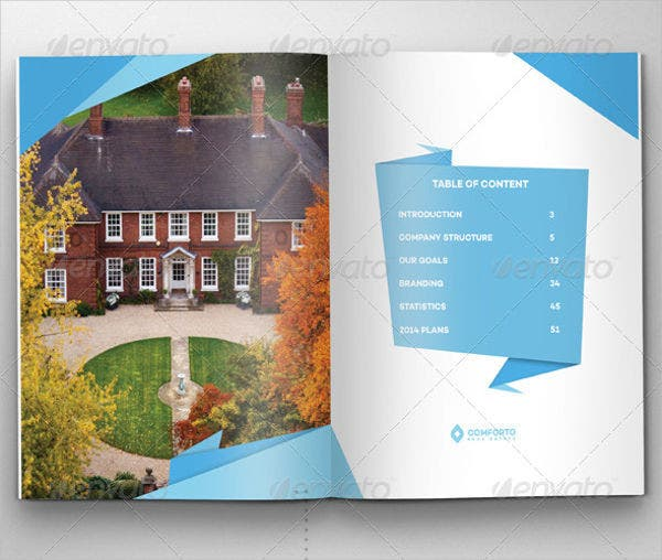 Origami Real Estate Company Brochure