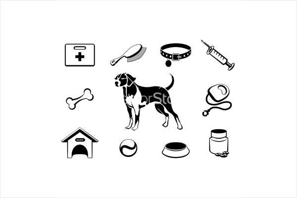 dog-vet-clinic-icons1