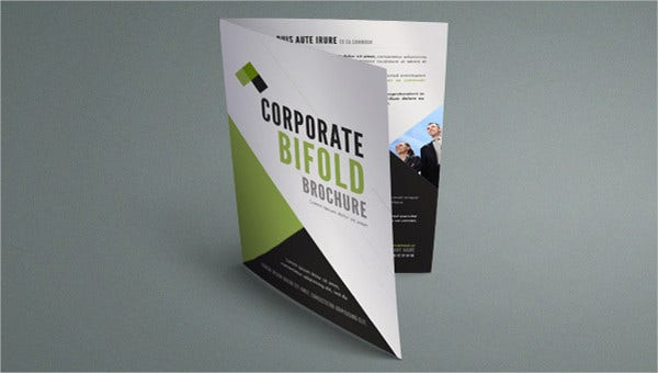 Bi-fold Corporate Business Brochure