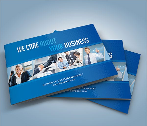A5 Corporate Business Brochure
