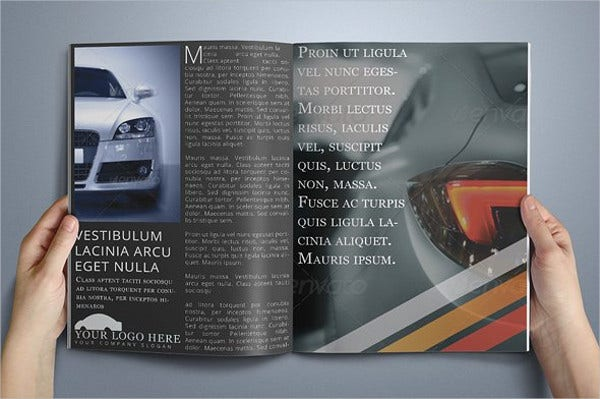 Corporate Automobile Business Brochure