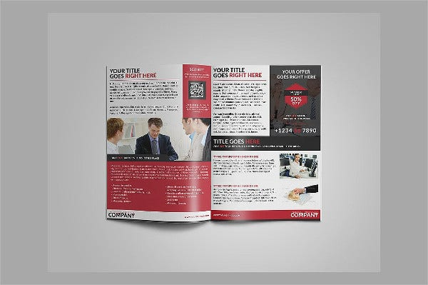 software corporate company brochure