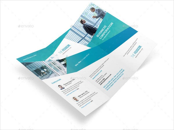 Corporate Company Trifold Brochure