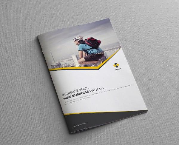 corporate sales company brochure