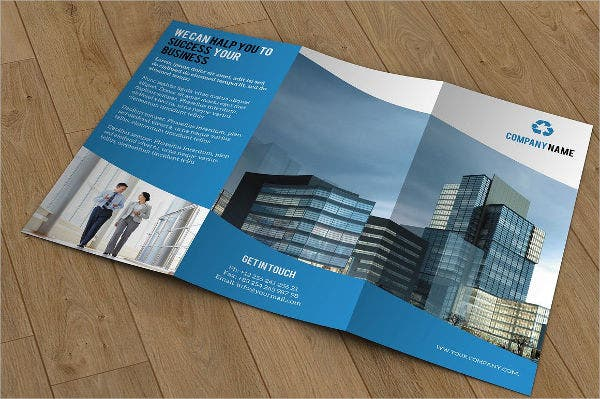 Corporate Marketing Company Brochure