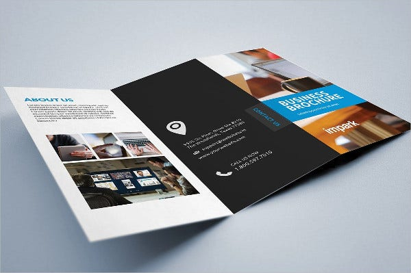 corporate advertising company brochure