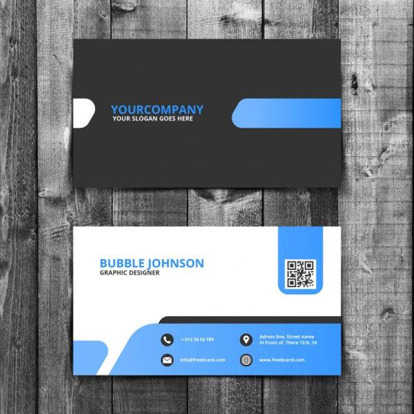 Free PSD Card Mockup