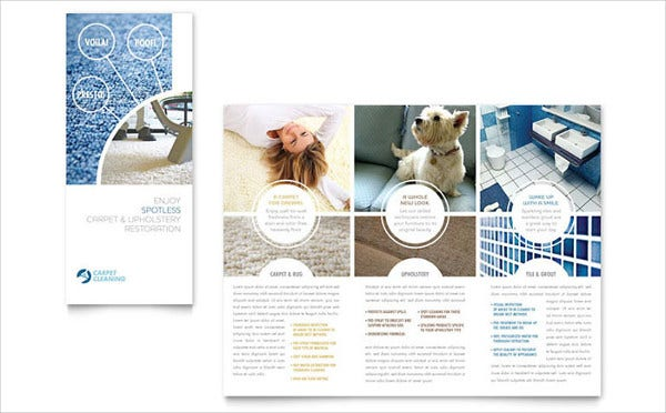 Carpet Cleaning Company Brochure