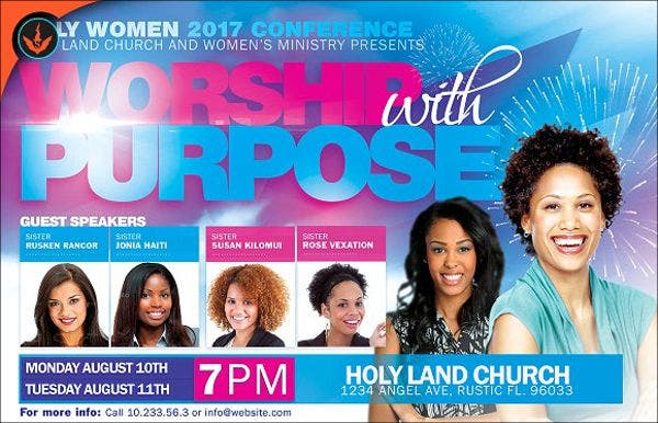womens-conference-event-flyer