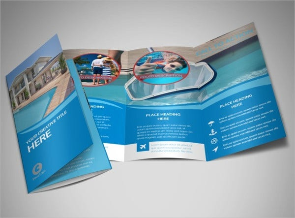 Swimming Pool Cleaning Company Brochure