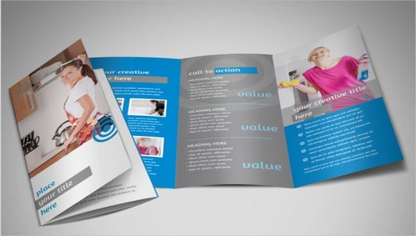 Thinking Of Ways To Advertise Your Cleaning Company Be Able Gain And Increase Costumer Count How About Placing It On A Brochure
