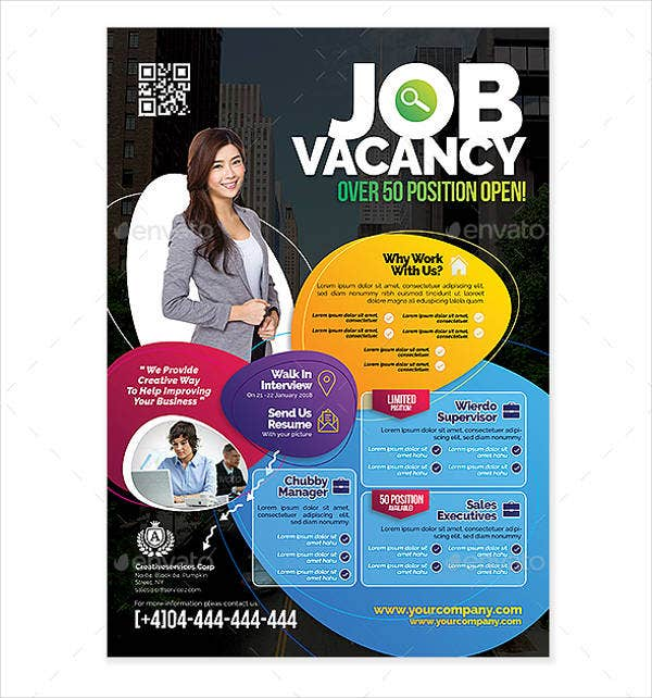 Job Vacancy Fair Flyer
