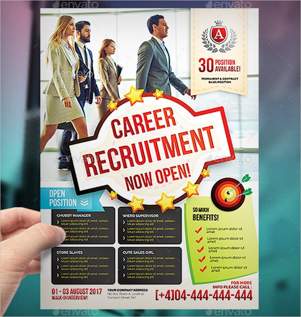 Job Vacancy Flyer Template
