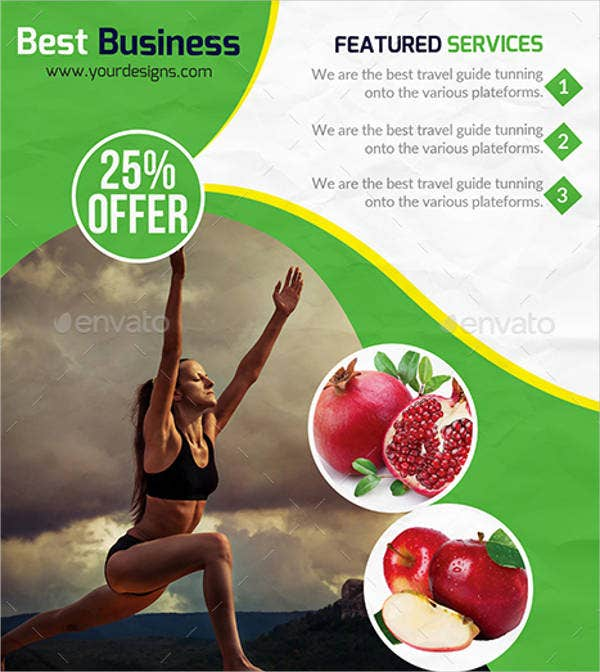 health and fitness psd flyer1