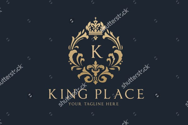 King Logo Vector