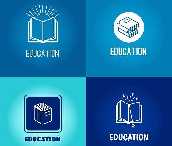 education-logo-set