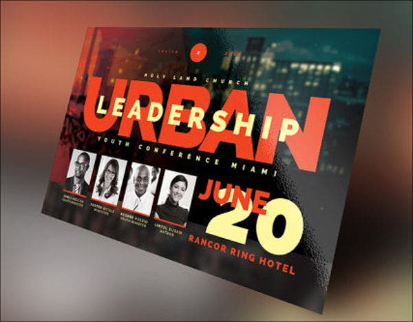 26 best conference flyer designs free premium templates