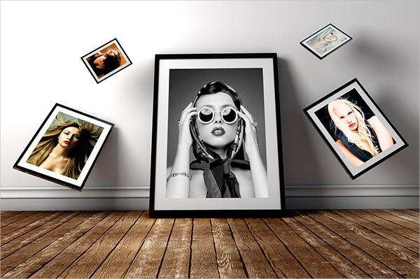 Free Photography Frame Mockup PSD