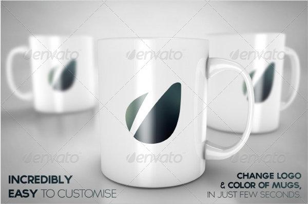 photorealistic mug mockup