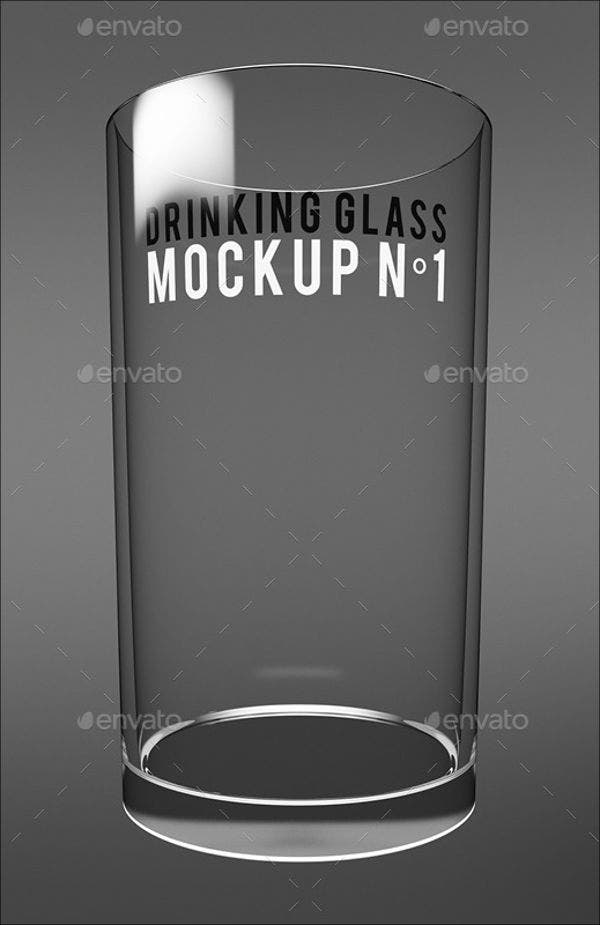 9 Glass Mockups Psd Indesign Ai Format Download Free
