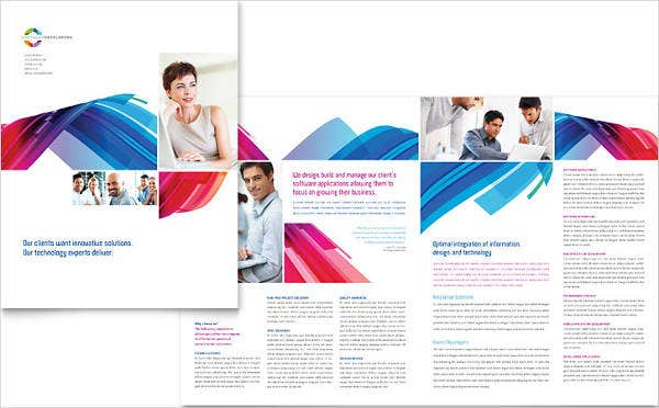 software solutions company brochure