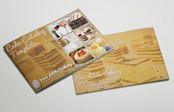 branding catering company brochure