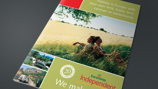 holiday branding company brochure