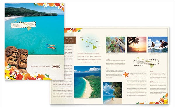 Hawaiian Travel Company Brochure