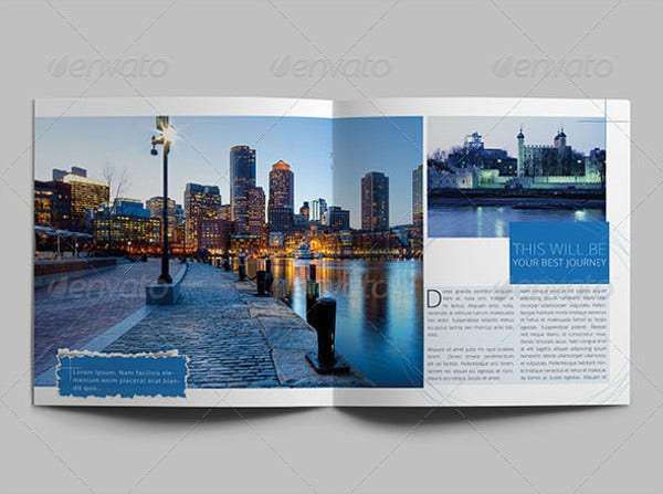 Sample Travel Company Brochure