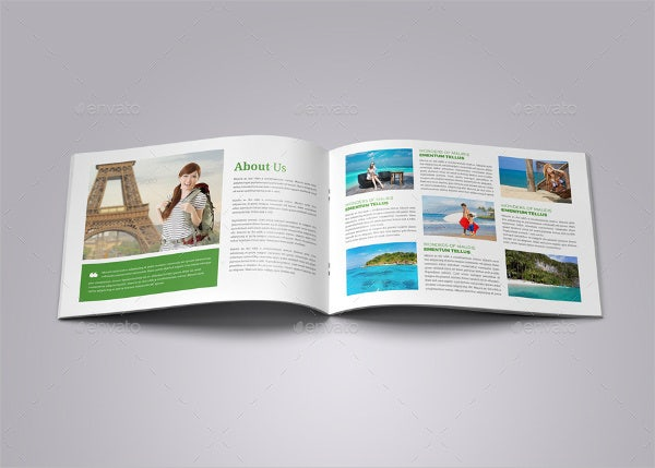 Travel Company Catalog Brochure