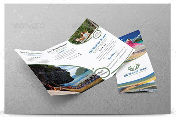 Travel Business Tri-fold Brochure