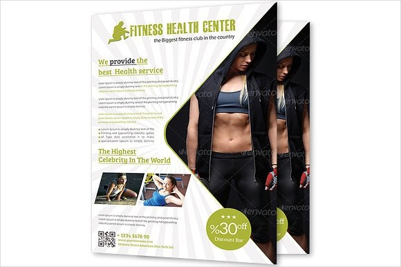 health-and-fitness-center-flyer