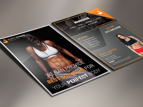 body-fitness-center-flyer