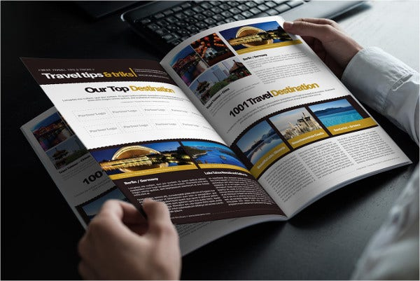 A4 Travel Business Brochure