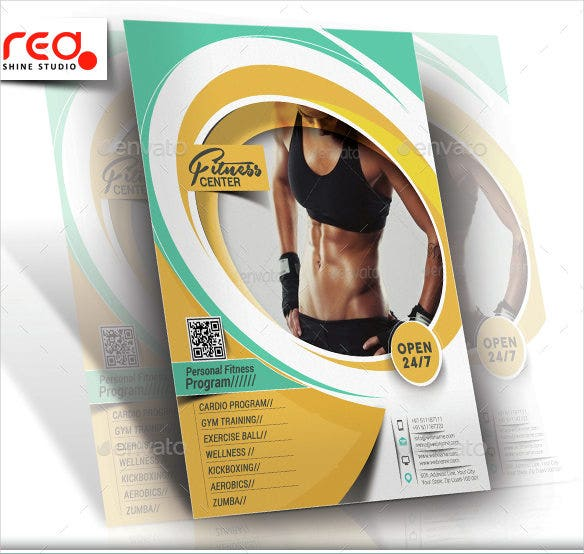fitness-yoga-center-flyer