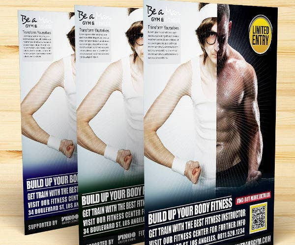 fitness-center-promotion-flyer