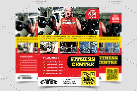 modern-fitness-center-flyer