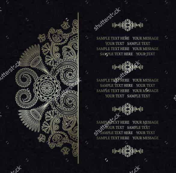 colorfuly designed wedding invitation template for download min