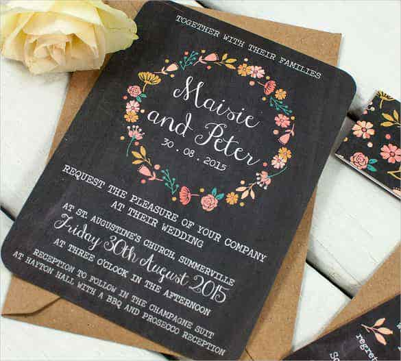 easy to edit wedding inviatation template for download min