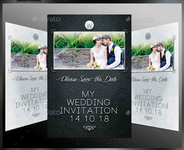 printable wedding invitation template for download min