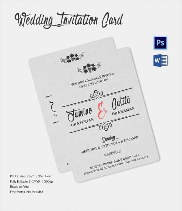 Wedding Invitation Mail To Friends - The Best Flowers Ideas